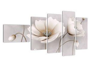Obraz bílých květin (V020898V11060)