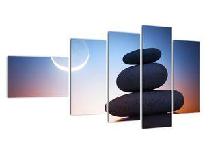 Obraz poskládaných kamenů na sobě (V020903V11060)