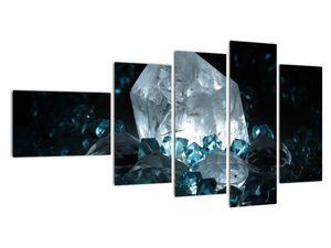Schilderij - Kristal (V021107V11060)