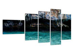 A víz és a sziklák képe (V021152V11060)