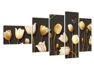 Obraz - Tulipány - abstraktné (V021347V11060)