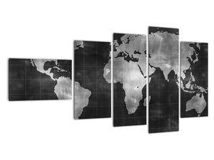 Obraz - Mapa světa (V021461V11060)