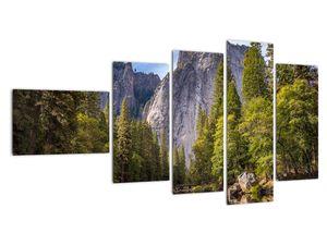 Kép - A Yosemite szikla alatt (V021691V11060)