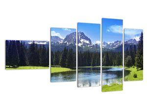 Obraz - Zasněžené vrcholky hor (V021908V11060)