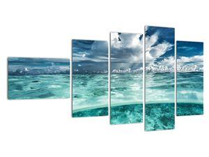 Obraz - Pohled pod mořskou hladinu (V021921V11060)