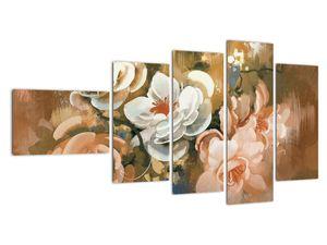 Obraz - Malovaná kytice květin (V022001V11060)