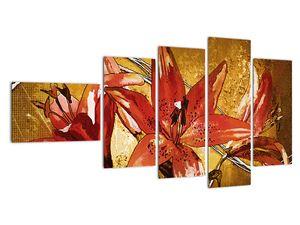 Obraz květů lilií (V022065V11060)