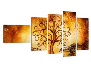 Naravna abstraktna slika drevesa (V022111V11060)
