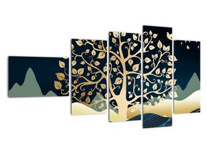 Slika zlatega drevesa (V022286V11060)