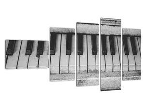 Egy régi zongora képe (V022562V11060)