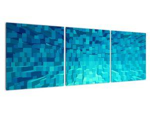 Obraz - abstraktní kostky (V020021V12040)