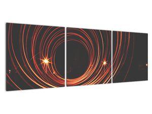 Obraz abstraktních linek (V020030V12040)