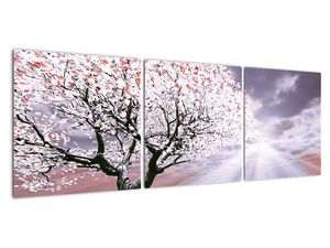 Červený obraz stromu (V020052V12040)