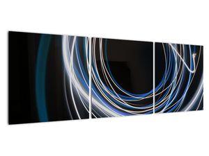 Tablou cu linii albastre (V020053V12040)