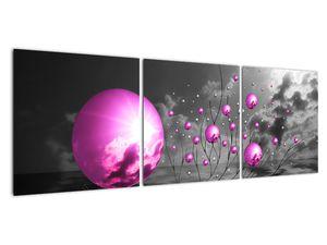 Obraz ružových gulí (V020108V12040)