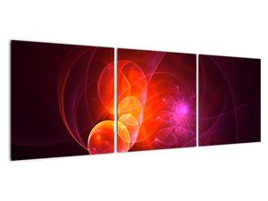 Moderní obraz růžové abstrakce (V020129V12040)