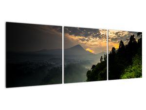 Obraz - zelená horská krajina (V020249V12040)