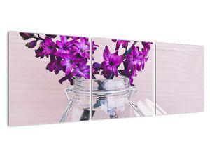 Obraz fialových květin (V020367V12040)