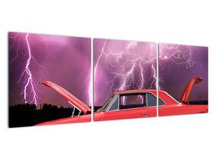 Slika crvenog automobila (V020409V12040)