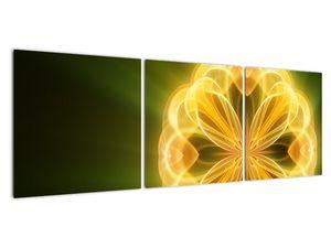 Obraz žluté květiny (V020451V12040)