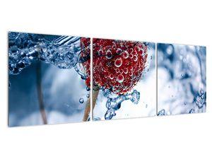 Kép - málna részlete a vízben (V020516V12040)