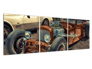 Obraz hnědého auta (V020538V12040)