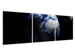 Föld és a Hold képe (V020671V12040)