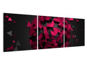 Obraz 3D abstrakce (V020866V12040)