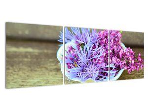 Obraz dekorace s levandulí (V020874V12040)