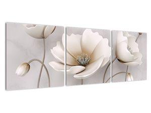 Obraz bílých květin (V020898V12040)