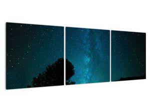 Obraz nočnej oblohy s hviezdami (V021100V12040)