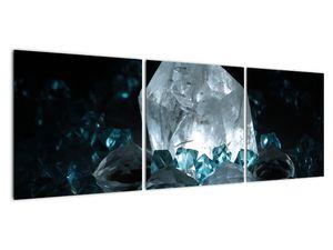 Schilderij - Kristal (V021107V12040)