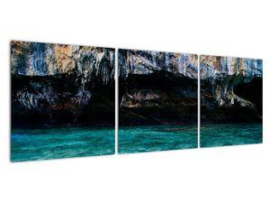 A víz és a sziklák képe (V021152V12040)