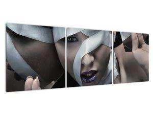 Slika žene s vrpcom (V021278V12040)