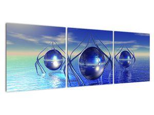 Obraz abstrakce - voda (V021284V12040)