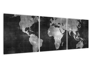Obraz - Mapa světa (V021461V12040)