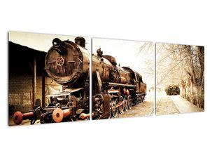 Slika - Povijesna lokomotiva (V021959V12040)