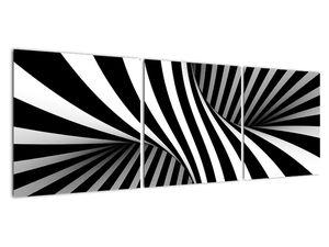 Absztrakt kép zebra csíkokkal (V021960V12040)