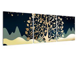 Slika zlatega drevesa (V022286V12040)