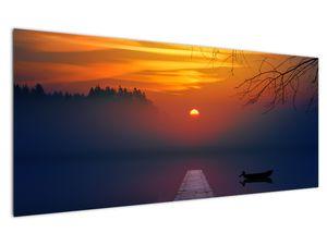 Híd képe naplementekor (V020012V12050)