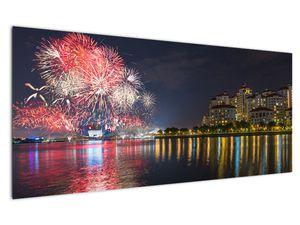 Tablou cu artificii in Singapur (V020035V12050)
