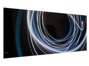 Tablou cu linii albastre (V020053V12050)