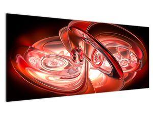 Tablou - forme roșii (V020064V12050)