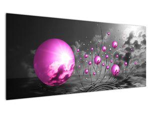 Obraz ružových gulí (V020108V12050)