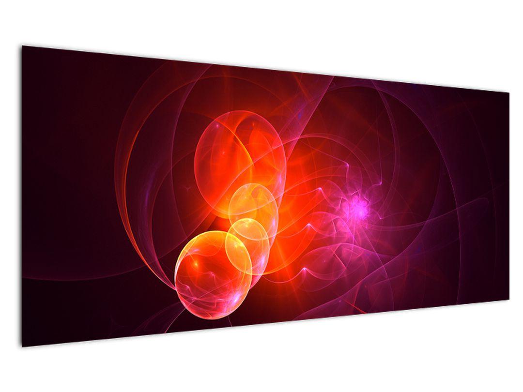Moderní obraz růžové abstrakce (V020129V12050)
