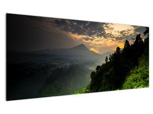 Obraz - zelená horská krajina (V020249V12050)