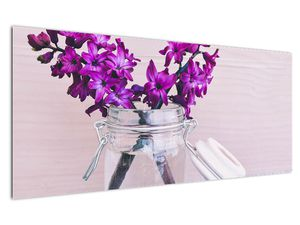 Obraz fialových květin (V020367V12050)