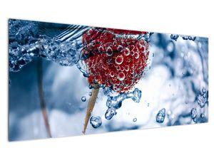 Kép - málna részlete a vízben (V020516V12050)
