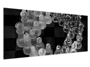 Obraz - černobílé šachy (V020598V12050)