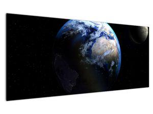 Föld és a Hold képe (V020671V12050)